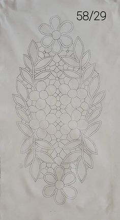 Floral Embroidery Patterns, Tatting Patterns, Wafer Paper Flowers, Point Lace, Cut Work, Plate Design, Filet Crochet, Angles, Milan