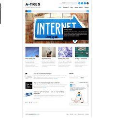 A-Tres. Comunicación y estrategia digital.