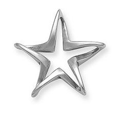 Floating 5-Point Star at James Avery