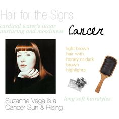 """""""Hair for the Signs Cancer"""" by expressingyourtruth on Polyvore"""