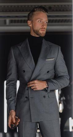 The Perfect Suit – Suit Jacket Best Suits For Men, Cool Suits, Mens Fashion Blazer, Suit Fashion, Womens Fashion, Black Suit Men, Designer Suits For Men, Slim Fit Suits, Stylish Mens Outfits