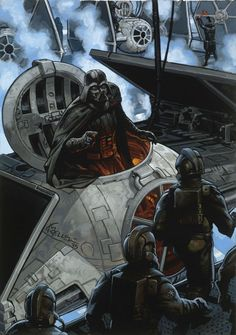 Star Wars: Darth Vader and TIE Fighter Pilots