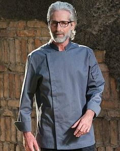 Gray Professional Chef, Suits For Women, Chef Jackets, Overalls, Gray, Long Sleeve, Sleeves, Cotton, Mens Tops