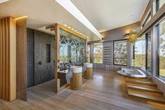 Luxury Queensland Home – Modern Designer Bathroom. Designer is Mark Gacesa of Ultraspace. Interiors by Minka Joinery www.minkajoinery.com.au
