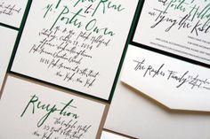 Wedding Invitation - Handwritten Hawthorne Collection on Etsy, $6.43 CAD
