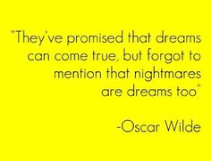 —- Oscar Wilde —-