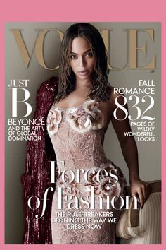 Beyoncé Covers September Vogue in Marc Jacobs -- The Cut