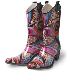 Van Gogh Irises Rain Boot Boots Amp Shoes Pinterest