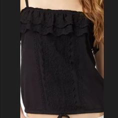 In search of Aeropostale tank Cami XL or XXL Looking for this ruffle tank in colors black and white sizes XL or xxl.  Let me know if you want to sell one.  Thx Aeropostale Tops Tank Tops