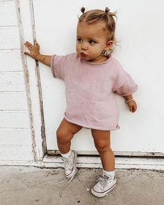 Little Girl Outfits, Cute Outfits For Kids, Cute Little Girls, Little Babies, Baby Boy Outfits, Cute Kids, Cute Babies, Preppy Baby Girl, Boho Baby