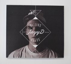 Mixtape cover — JayyD by Simon Langlois, via Behance