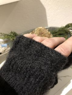 Moschusochsenhaar! Fingerless Gloves, Arm Warmers, Fashion, Breien, Fingerless Mittens, Moda, Fingerless Mitts, Cuffs, Fashion Styles