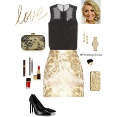 """""""Love Saturday NIght"""" by whatsagirl2wear on Polyvore"""
