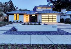 Modern Exterior of Home - Found on Zillow Digs