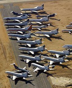 Where Do Old Airplanes Go?