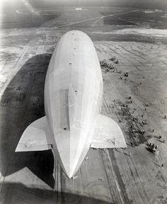 graf zeppelin - lakehurst new nersey 1930