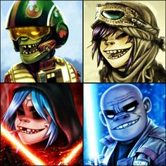 Force 4 Up - Gorillaz
