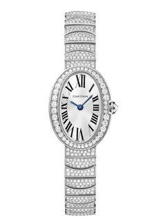 Montre haute joaillerie Cartier Baignoire http://www.vogue.fr/joaillerie/shopping/diaporama/montres-haute-joaillerie-diamants-full-pavees/16442/image/884395#!montre-haute-joaillerie-cartier-baignoire