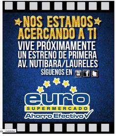 Euro en Laureles, próximamente (Medellin Colombia)