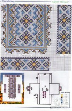 Gallery.ru / Фото #90 - узори - LLLiudochka Embroidery Patterns, Cross Stitch Patterns, Bead Crochet Rope, Brick Stitch, Needlepoint, Needlework, Quilts, Sewing, Knitting