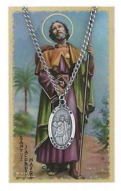 St James Prayer Card Set