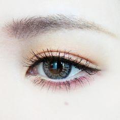nice make up Korean Makeup Look, Korean Makeup Tips, Asian Eye Makeup, Cute Makeup, Simple Makeup, Natural Makeup, Makeup Looks, Makeup Inspo, Makeup Inspiration