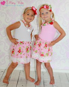 Create Kids Couture : Shirred Skirt tutorial