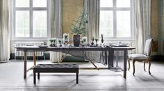 Lederleitner Home Store - Tuchlauben Concept Store Home Catalogue, Scandinavian Christmas, Christmas Inspiration, All Things Christmas, Decorating Your Home, Cosy, Interior And Exterior, Dining Bench, House Ideas