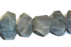 Labradorite Faceted Nugget Gemstone Beads | JBCBeads.com #beading #jewelrymaking #labradorite #gemstones #beads #jewelry