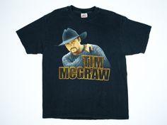 Tim McGraw Tshirt Tim McGraw Tour Shirt by TroyanVintage