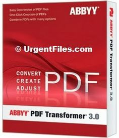 Download ABBYY PDF Transformer 3 Free for Windows | Free Download Software and Games