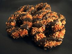 Homemade Girlscout Samoas Recipe