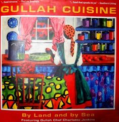"A history of Gullah Cuisine Restaurant and Gullah culture, featuring recipes by renowned Chef Charlotte Jenkins. Gullah Chef Charlotte Jenkins' debut cookbook, ""Gullah Cuisine: By Land and By Sea,"" bridges the past and the present. Photojournalist Mic Smith captures present-day  images of Gullah life in coastal South Carolina a visit to the farmer's market, a baptism, a wedding and the home where Charlotte grew up."