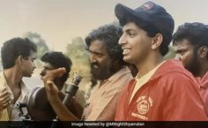 Hollywood director M Night Shyamalan shared one helluva throwback on his Twitter profile on Friday. Hollywood, Profile, Entertaining, Running, Couple Photos, Film, Night, News, How To Make