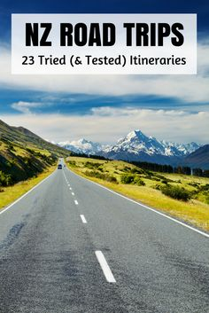 Where to go on a road trip in New Zealand. Other travellers have done these trips. Great motivations