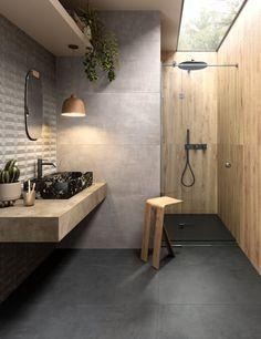 MODERNÉ KÚPEĽNE - Trendové obklady do kúpeľne / BENEVA Architecture Design, Tiles, Bathtub, Interior Design, Bathroom, Elegant, Instagram, Home Decor, Corona