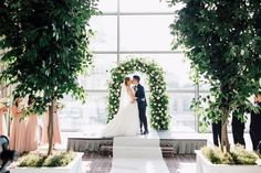 Jacqueline and Kenneth's big day captured by Purple Tree Wedding Photography took our breath away the minute we laid eyes on it! Trust us, you won't want to miss this one! Tree Wedding, Wedding Ceremony, Purple Trees, Four Seasons, Big Day, Fairy Tales, Trust, Wedding Photography, Eyes