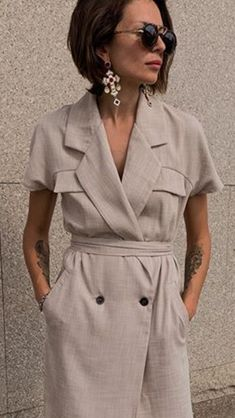 Ropa Tutorial and Ideas Simple Dresses, Elegant Dresses, Casual Dresses, Fashion Dresses, Timeless Fashion, Love Fashion, Fashion Design, Boho Fashion Summer, Over 50 Womens Fashion