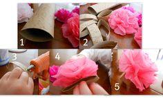 Tissue Paper napkin rings
