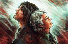 Daryl and Carol - The Walking Dead Fan Art (38019217) - Fanpop