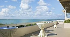 Treat your wedding guests to a spectacular view of the Atlantic Ocean at #Hilton Key Largo Resort.