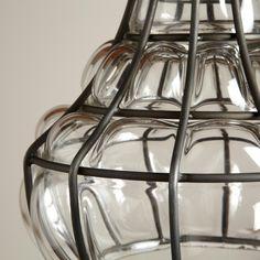blown glass bottle pendant world market blown glass bottle pendant