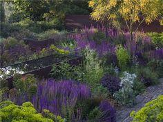 The Barn, and Tom Stuart-Smith's courtyard garden