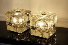 1stdibs   Pair of Cubosfero Lamps by A. Mendini