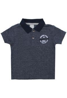 39ac9595e3 Camiseta Hering Kids Menino Lisa Azul-Marinho