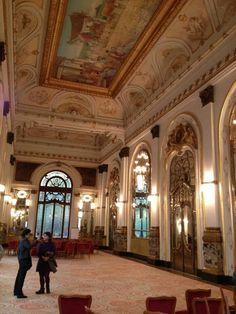 Luxurious Teatro Municipal, São Paulo's main opera house.