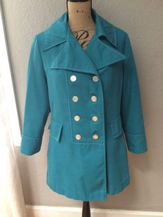 Adorable Vintage Box Coat Short Trench by Catintheatticvintage