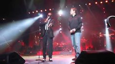 "Charlie Wilson brings Scotty McCreery on stage to sing ""Charlie, Last Na..."