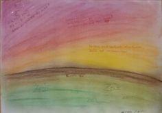 Zeit 3 - 2015 - Pastell auf Papier, laminiert