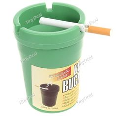 Unique Cup Style Smokeless Ashtray Cigarette Ashtray Cigar Holder for Car Home Use HLI-129519